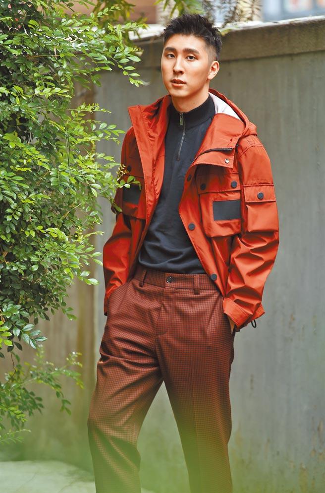 胡釋安在《火神的眼淚》飾演消防員,因戲學習不少救護技術。(陳俊吉攝)
