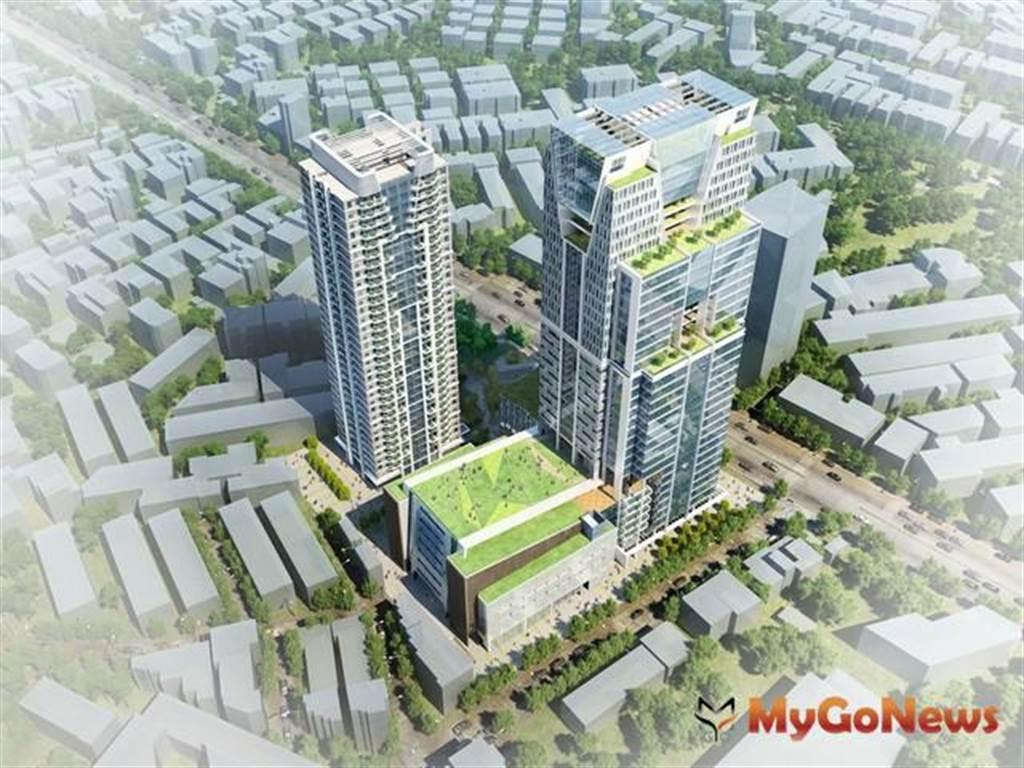 新店地政事務所將要搬到行政生活園區(圖/新北市政府)