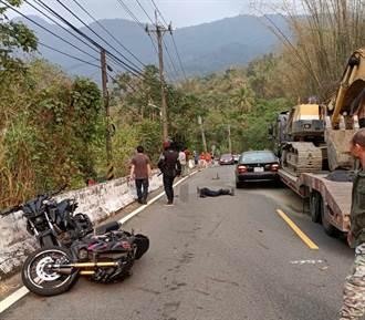BMW逆向超车连撞2重机 骑士爆头亡 画面曝惹网怒:蓄意谋杀