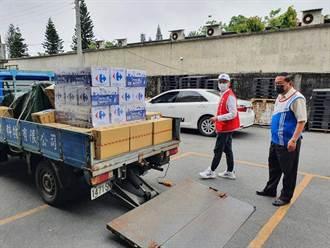 援助太魯閣號事故 家樂福捐口罩、礦泉水等物資