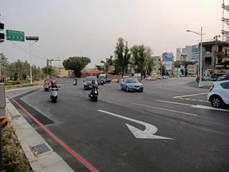 台中市7叉路口 被稱「玩命關頭」分流改善