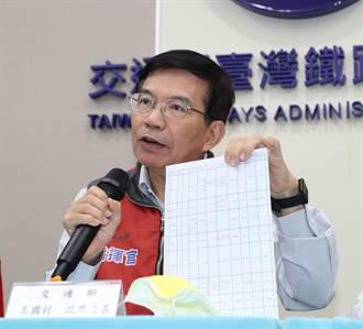 林佳龍明卸任 行政院宣布王國材出任交通部長