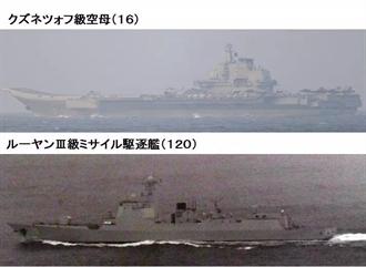 強硬回應日美聯合軍演 陸遼寧航母編隊穿越宮古海峽