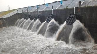 新北14抽水站雨季预抽 增滞洪空间