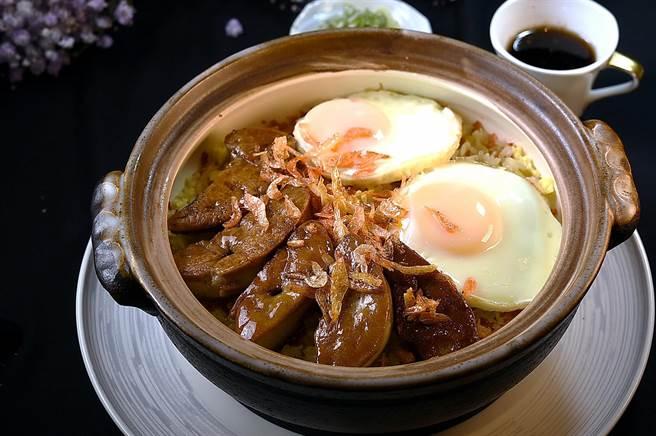 獨》法式鵝肝與港式煲仔飯「聯姻」 台北唯一新派粵菜餐廳玖尹新菜上桌 -