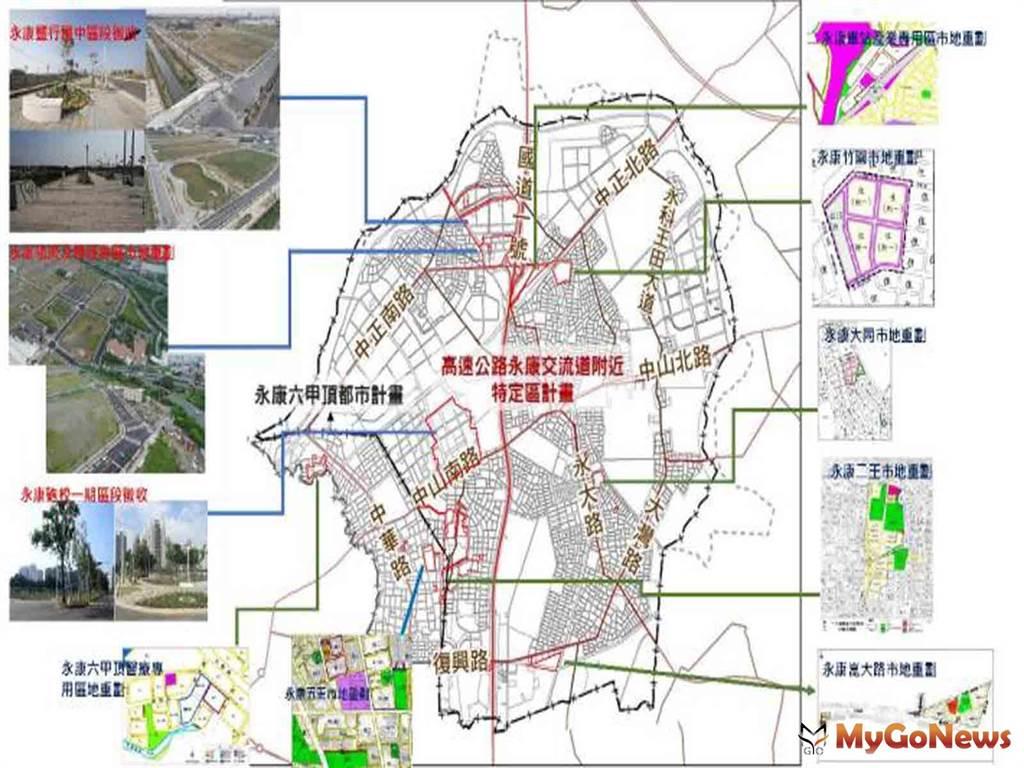 黃偉哲市長開辦7個開發區,積極投入永康區重大建設,建構優質核心學區與商圈(圖/台南市政府)