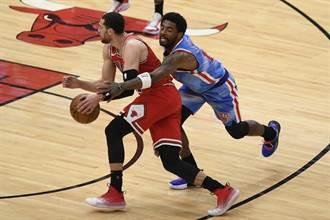 NBA》六星只來一半!籃網爆冷作客不敵公牛