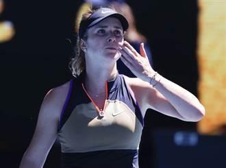 網球》2月驚傳分手 烏克蘭女神閃電宣布訂婚