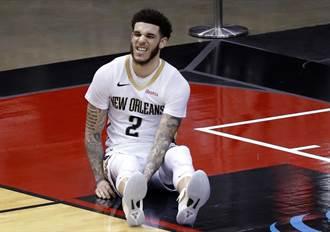 NBA》球哥復出飆8顆三分球 末節抽筋退場