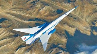 美國超音速總統專機 設計超豪華