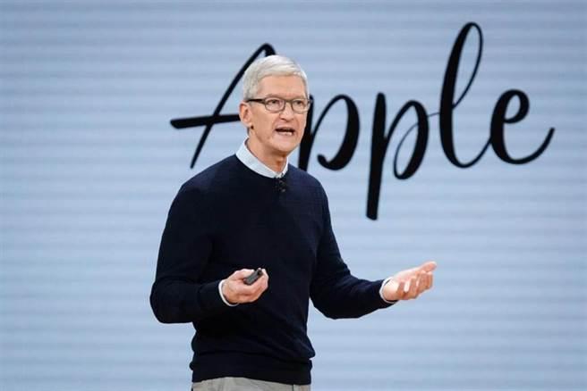 蘋果CEO庫克。(圖/達志影像)