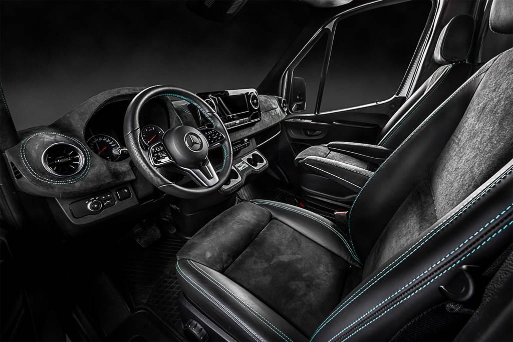 這拖車帥到讓人想納入車庫 Kegger爆改Mercedes-Benz Sprinter