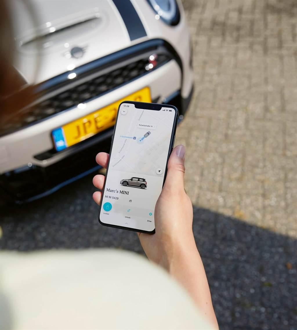 MINI開始正式推出汽車共享功能:MINI Sharing