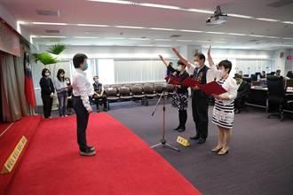 盧秀燕布達新人事 勞工、觀光、文化3局長舉行宣誓交接典禮