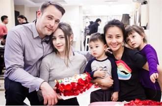 馬雅舒離婚吳奇隆再嫁外籍富商 近照曝光混血兒女顏值驚人