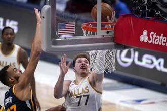 NBA》東契奇準大三元 獨行俠終結爵士9連勝