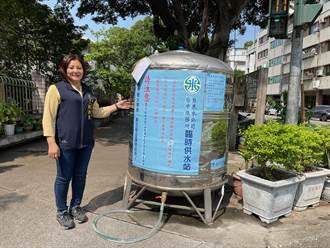 中苗彰今起供5停2臨時供水站儲水桶出現漏水 台水公司:已派員檢修