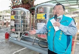 寶山鄉長邱坤桶籲檢討自來水管線 讓寶山人喝寶山水