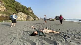 重拾連結自然能力 中山表藝課以海岸為教室