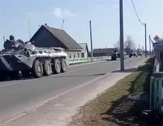 白羅斯部隊聚集烏克蘭邊境 烏克蘭面臨俄白兩方夾擊