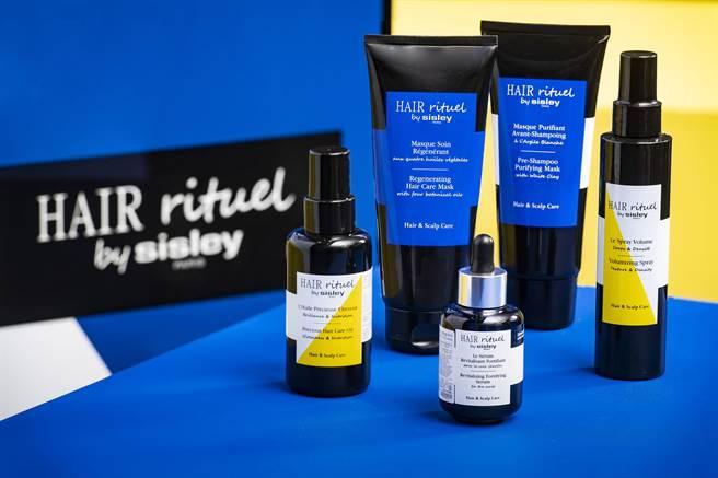 Hair Rituel by Sisley產品系列圖。(Hair Rituel by Sisley 提供)