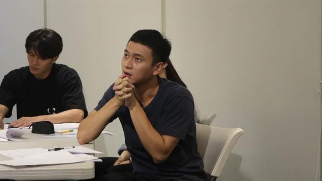 劉冠廷回歸《植劇場2》訓練,透露上課練習讓他再次找到表演的快樂之處。(拙八郎提供)