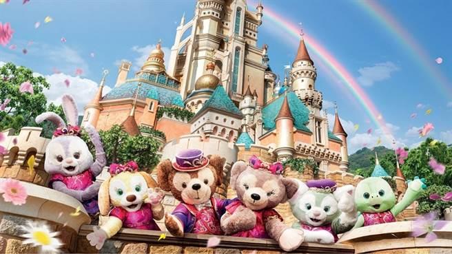 香港迪士尼樂園以Duffy與好友為主題帶來一系列春日活動。(圖/香港迪士尼樂園提供)