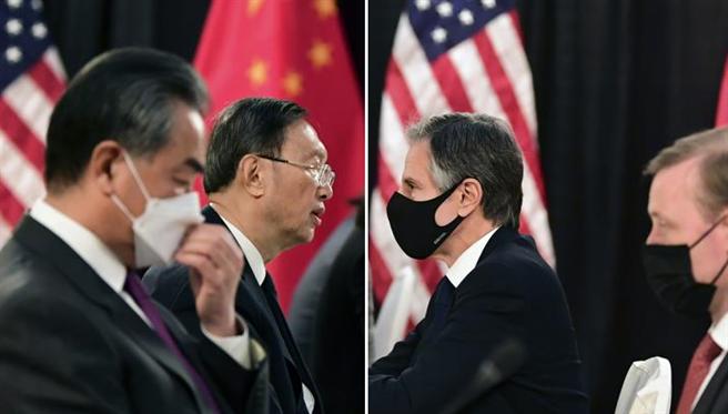 美國智庫與對華事務專家何瑞恩認為,美中阿拉斯加會談氣氛沒有改變美國國務卿布林肯的對華政策核心,雙方仍是一種「競爭性相互依存關係」。(圖/合成圖)