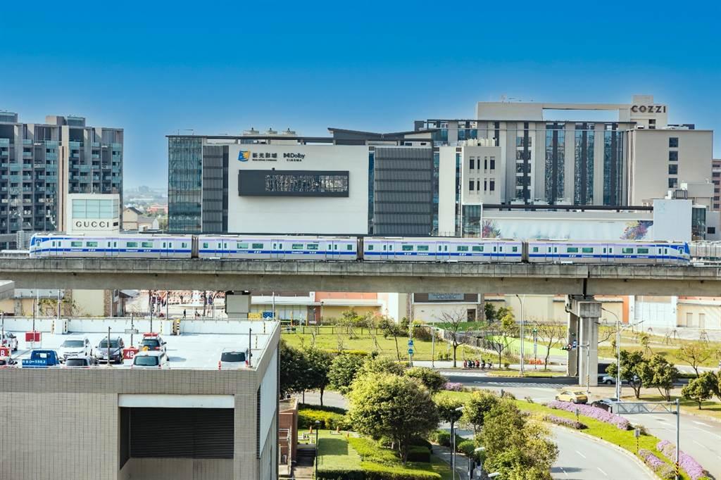 桃園A18高鐵特區重大建設、交通網路、生活休閒機能均已到位。(業者提供)