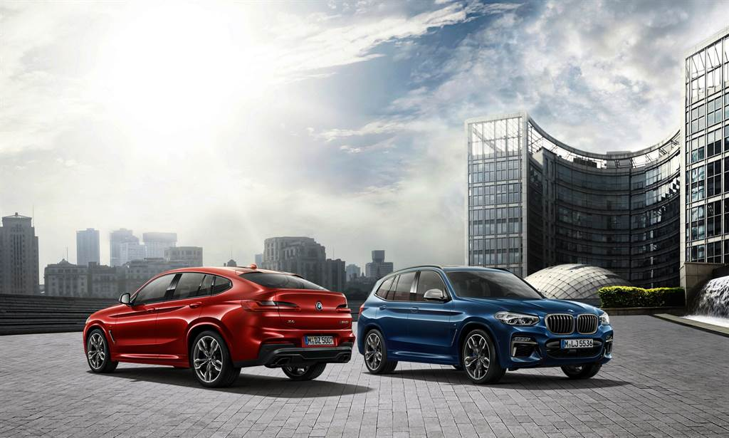 全新BMW X3、X4白金領航版本月交車加贈一年乙式全險。