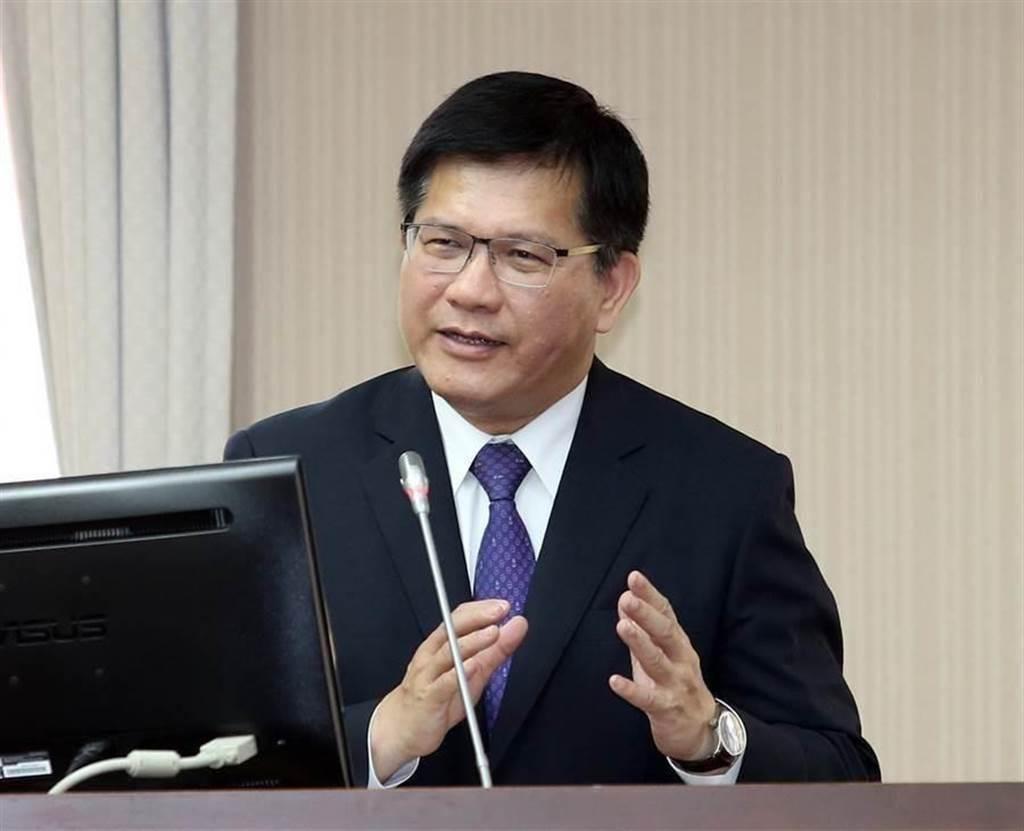 交通部長林佳龍。(資料照/姚志平攝)