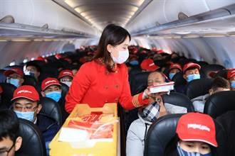 越捷航空本月起恢復國際航線 4月11日河內-台北先單向飛兩班