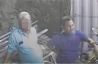 【太魯閣出軌】李義祥身旁神秘「白髮藍衣男」 遭檢帶回事故現場