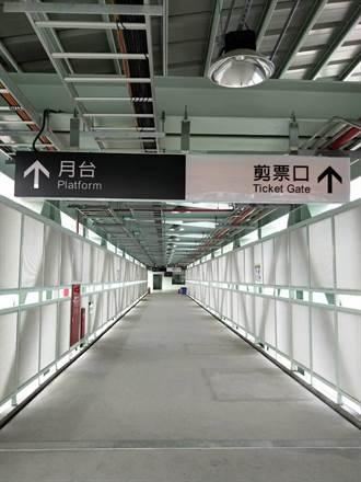 台南火車站臨時後站 明天啟用