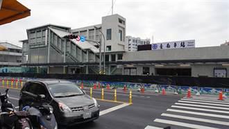 配合鐵路地下化 台南火車站新設臨時後站明啟用