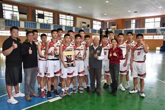 頭份興華高中籃球隊 勇奪HBL全國乙級亞軍