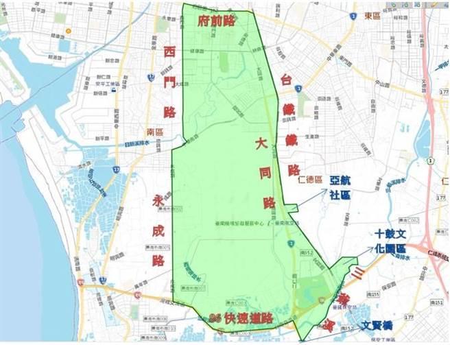 台南市仁德區、中西區、南區、東區等4區轄內部分區域停水,預定從4月13日上午9時起至15日上午5時止停水,影響供水總計44小時。(自來水公司第六區管理處提供/曹婷婷台南傳真)