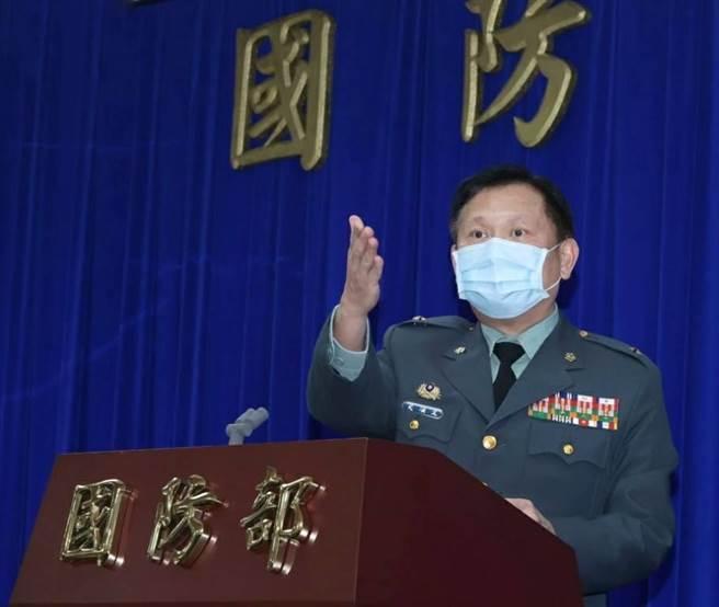 國防部軍事發言人史順文。國防部提供。