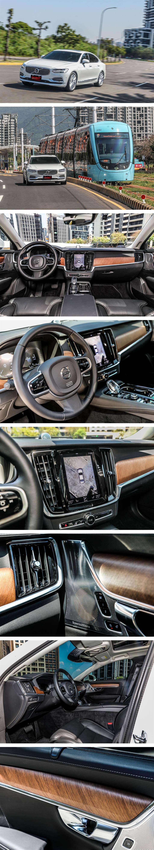 來自北歐的Linear Walnut斜紋胡桃木飾板,具有獨特的消光表面,並且有極佳的觸感,為S90內裝的點睛之絕!