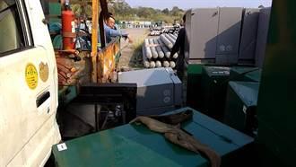 台南左鎮工安意外 工人吊掛變電箱慘遭823公斤變電箱壓死