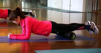 調整肌筋膜 善用滾筒9招放鬆大法 足底筋膜炎也舒緩
