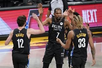 NBA》杜蘭特復出開慶祝行情 籃網大贏鵜鶘28分