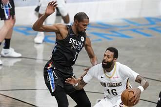 NBA》杜蘭特強勢回歸 百分百命中砍17分鎮壓全場