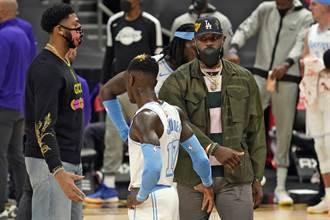 NBA》湖人雙星復出時間曝光 詹姆斯最快4月底回歸