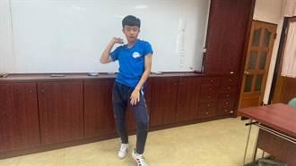 台東高中巫宗諺熱愛街舞 跳進北市大榜首