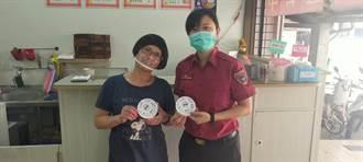 陶瓷杯垫印住警器赠咖啡厅 消防局防灾宣导扩及餐饮店客人