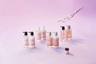 櫻花、果香雙重香氛 秀髮和肌膚洗出戀愛的味道