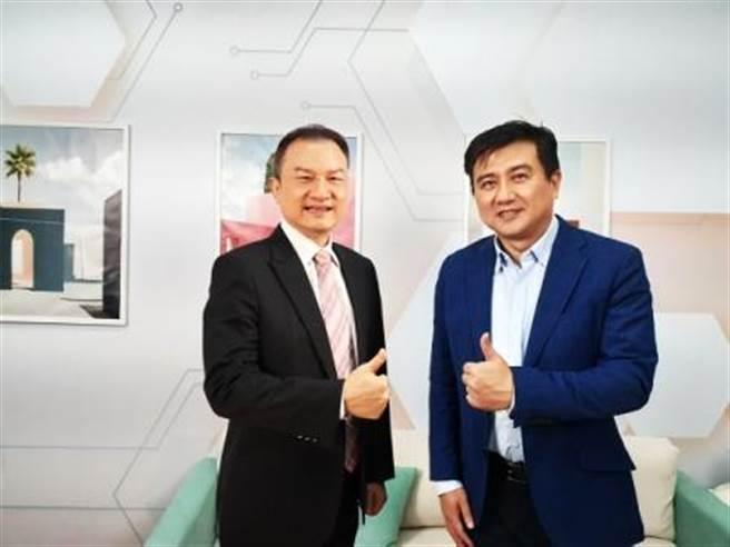 理財周刊發行人洪寶山(左)、楊雲翔(右)。(圖/理財周刊提供)
