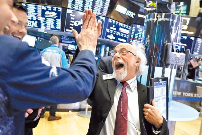 聯代科技盤中股價一度飆漲1,050%。圖/美聯社