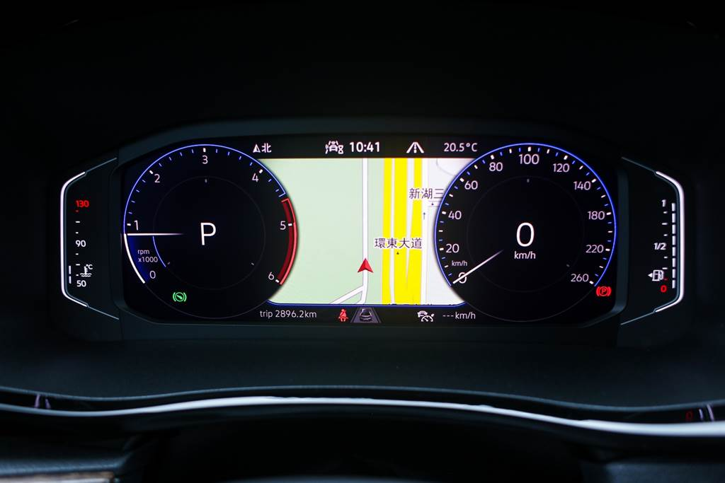 Highline以上車型標配10.25吋數位儀表,在集團中以廣泛運用於各品牌,實用性與多元的變化不用多說。